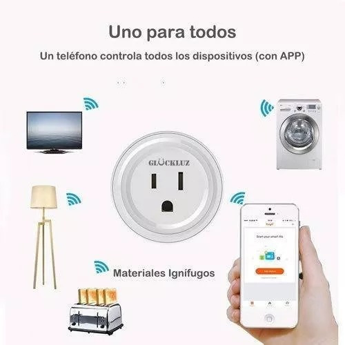 Enchufe Timer Wifi Smart Plug Alexa Google A Domicilio