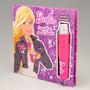 Livro Barbie Descubra Seu Talento Com Microfone De Verdade