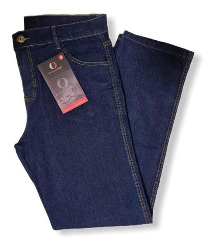 Calça Jeans Reforçado Masculina Básica Trabalho Uniforme Top