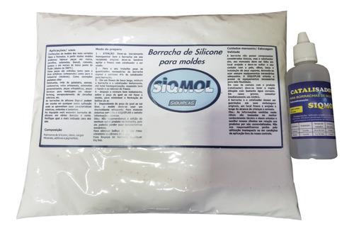 Kit Refil Borracha De Silicone - Siqmol 6014