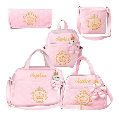 Kit Bolsa Bebê Maternidade + Mochila Personalizada + Térmica