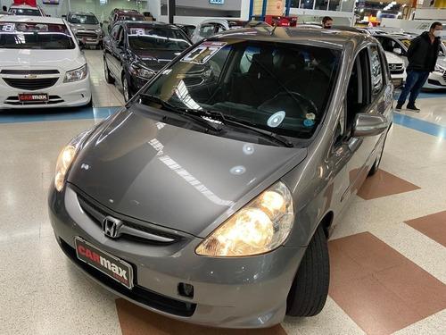 Honda Fit Ex 1.5 2007 Cinza 4p
