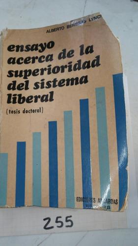 Ensayo Acerca De La Superioridad Del Sistema Liberal A.b.lin