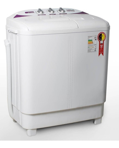 Tanquinho Centrífuga De Roupa 2 Em 1 10kg Twin Tub