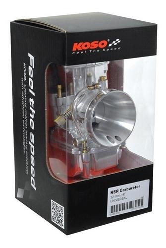 Carburador Koso 32mm Com Power Jet #1323