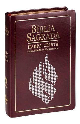 Bíblia Sagrada Harpa Cristã Com Dic. E Concordância E Índice