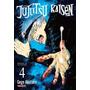 Mangá Jujutsu Kaisen Batalha De Feiticeiros Vol4 Português