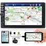 Central Multimídia Universal Mp5 2din Android Ios Câmera Ré