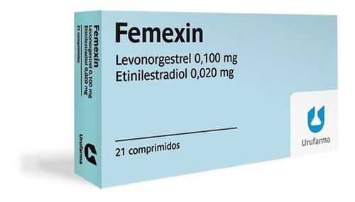 Femexin Anticonceptivo Hormonal Oral X 21 Comp. Urufarma®