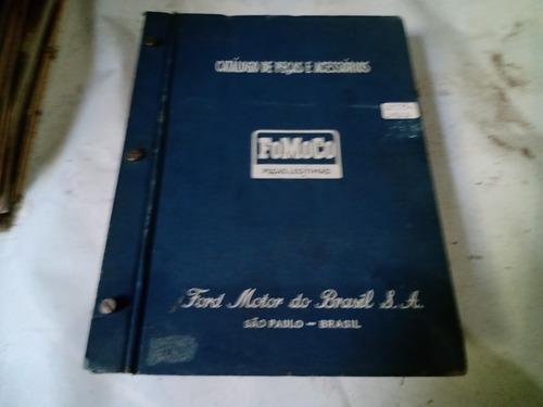 Ford F100/f350/f600/f1/etc 1959/1962 Catálogo De Peças