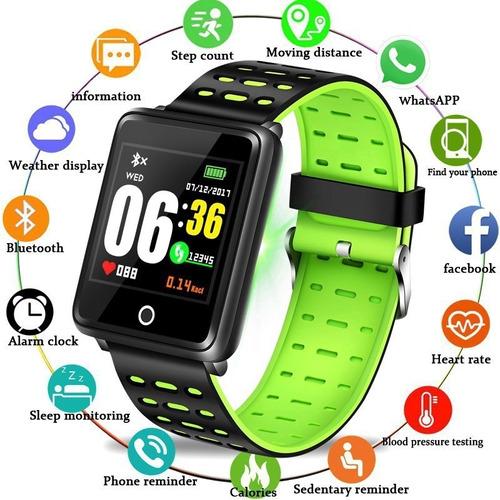 Relógio Smartwatch Monitor Fitness Bluetooth Promoção