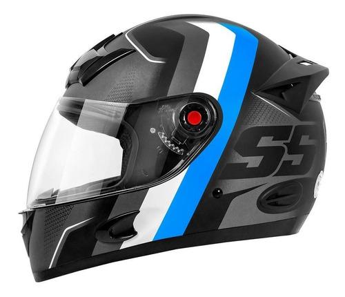 Capacete Moto Fechado Mixs Mx5 Super Speed Fosco / Brilhante