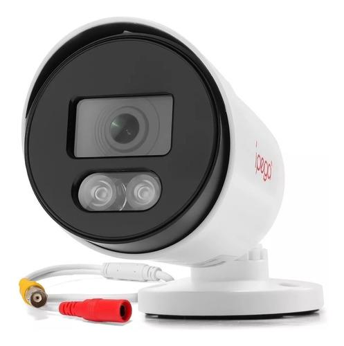Câmera Bullet Ípega 1080p/2mp Plástico Colorida A Noite
