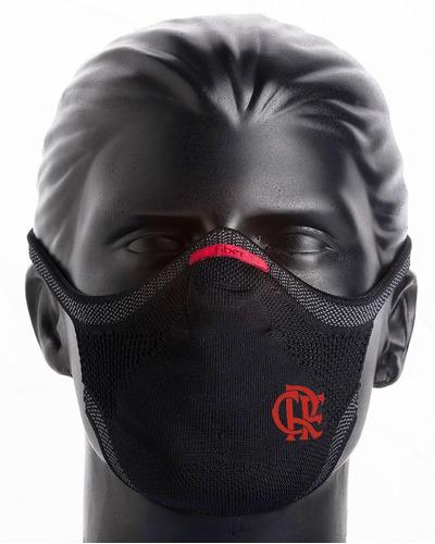 Máscara De Proteção Fiber Knit - Flamengo