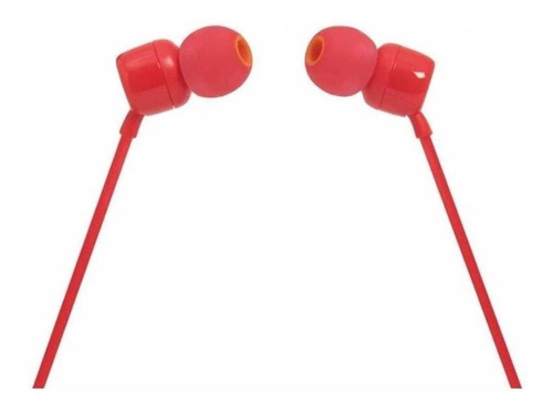 Audífonos In-ear Jbl Tune 110 Red