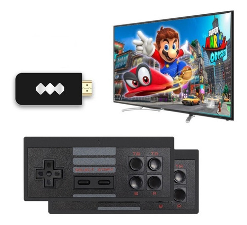 Consola Clasica Inalámbrica Hdmi 818 Videojuegos Retro Mario