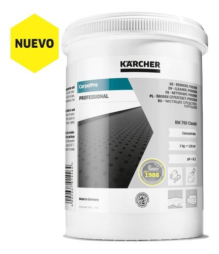 Detergente Carpet Profesional, Rm 760 Original Kärcher® .8kg