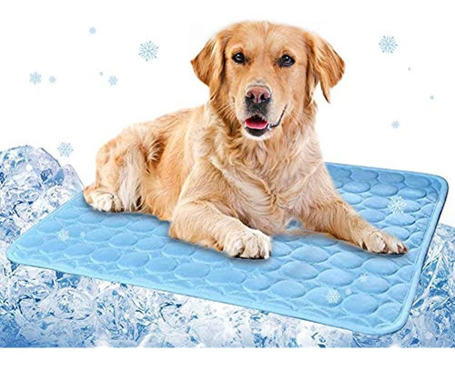 Wironlst Summer Pet Self Cooling Mat - Perros Gatos Alfombra