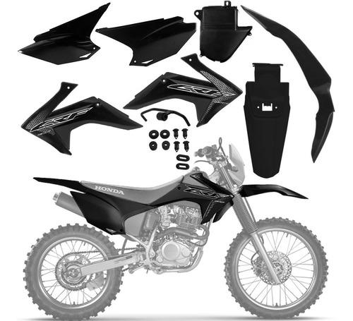Kit Plastico Crf 250f Roupa F21 Amx Completo Várias Cores