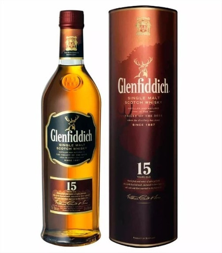 Whisky Glenfiddich Single Malt 15 Años 750 Ml Licor Dekor