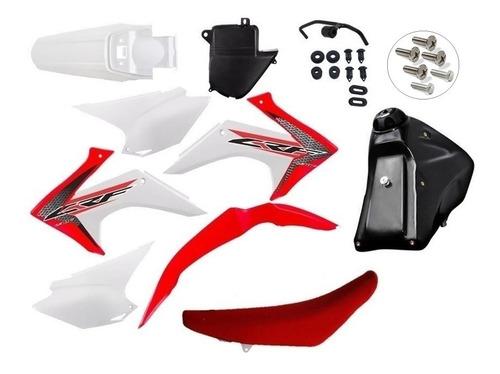 Kit Roupa Crf 230 Adaptavel Xr200 Tornado Bros Xtz Promoção