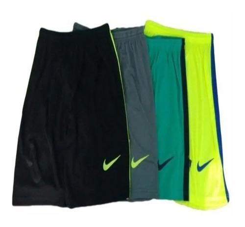 Pacotão Short Calção Futebol Academia  Fitness  Kit Com 5