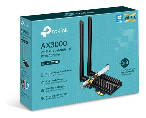 Adaptador De Red Tp-link Tx50e Wi-fi 6 Bluetooth 5.0 Pcie