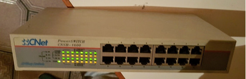 Switch Cnet Cnsh-1600 16 Bocas.