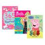 Kit 365 Atividades Unicórnios Barbie Peppa Pig
