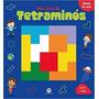 Livro Com Jogo Tetraminós Tetris Infantil Lacrado Educativo