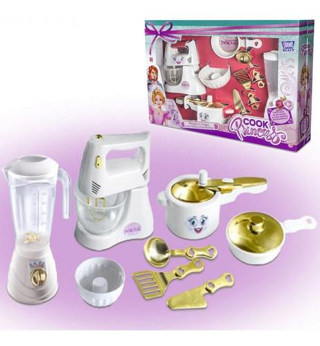 Kit Liquidificador Batedeira Cozinha Infantil Acessórios