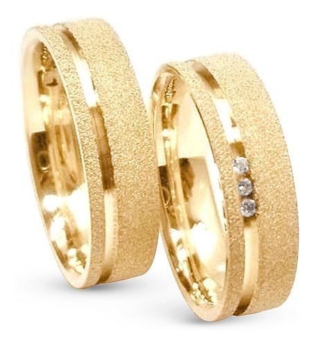 Par De Alianças Ouro 18k 5 Gramas  5mm  Casamento E Noivado!