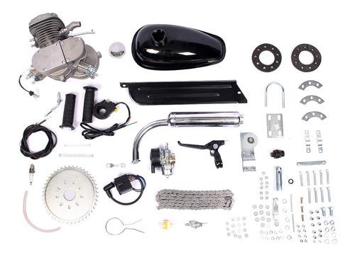 Kit Ciclomotor 80 Cc Bicimotor Bicicleta Motor 2 Tiempos