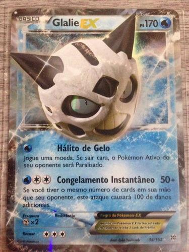 Glalie Ex - Pokémon Tcg