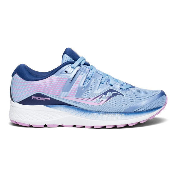 Zapatilla Saucony Running Ride 10 Mujer Azul/violeta