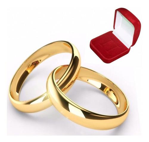 Par De Alianças Feitas De Moedas Antigas 4mm Casamento