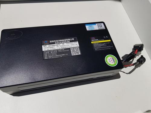 Batería De Litio 20ah 60v Para Moto O Scooter Eléctrica