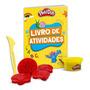 Livro Kit Atividades C Moldes/espátula/massinha Play doh Lar