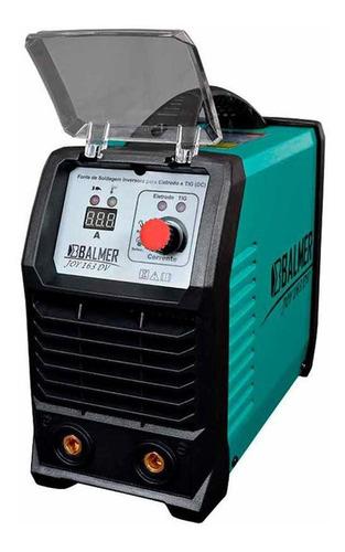 Máquina De Solda Inversora Tig Mma 160a Joy 163 Dv  Balmer