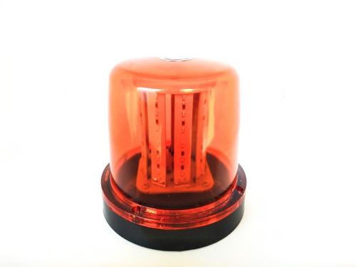 Giroled Giroflex Sinalizador 12 Volts 10 Watts 54 Leds Ambar