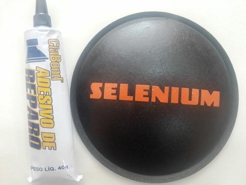 Calota Protetor Para Alto Falante Selenium 120mm + Cola Original