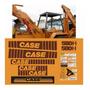 Kit Adesivo Completo Retroescavadeira Case 580h etiqueta Mk
