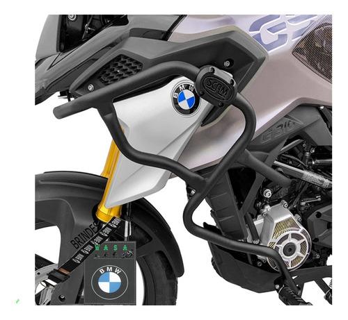 Protetor De Motor E Carenagem Bmw G310gs Com Pedaleira
