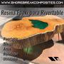 Resina Epoxi River Table