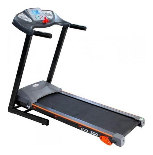Esteira Elétrica Evolution Fitness Evo 1500 220v Preta