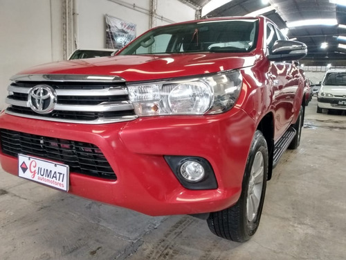 Toyota Hilux 2.8 Srv 4x4 At. Año 2016. Unica Mano