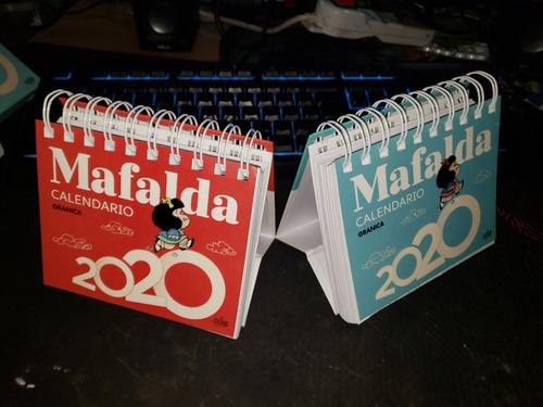 Mafalda 2020 Calendario De Escritorio - Azul-rojo (español)