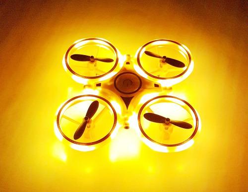 Mini Drone Silcerybox Com Controle De Mão