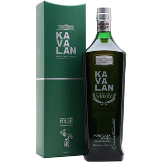 Whisky Kavalan Port Cask Single Malt De Taiwan Con Estuche