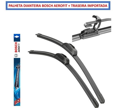Par Palheta Limpador Modelo Original Bosch Aerofi Traseira